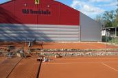 Tennis - Platzpflege - Kurs 12.03.2016